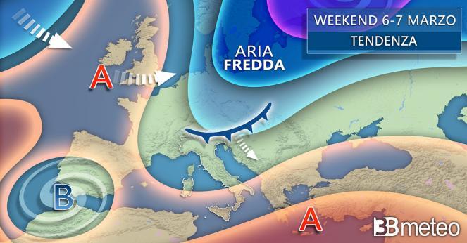 Meteo Italia weekend