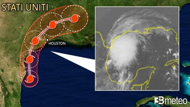 Meteo: la tempesta Nicholas pronta all'impatto con il Texas