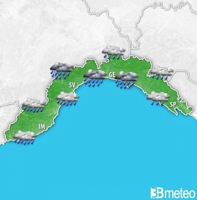 Allagamenti a Genova, allerta rossa anche in Piemonte