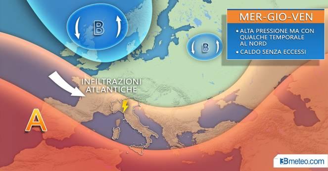 Meteo Napoli, nel weekend 20-21 luglio torna il caldo africano
