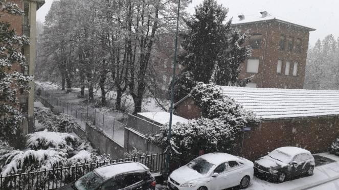 Meteo neve ad Asti