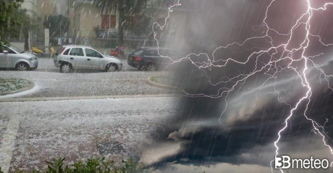 Meteo Nordovest Italia: intensa ondata temporalesca tra sabato sera e domenica mattina