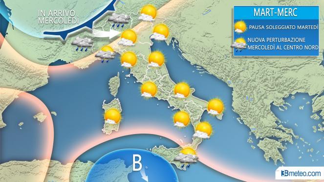 Meteo: arriva il freddo polare sull'Italia