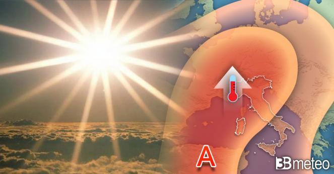 Meteo prossimi giorni con alta pressione e caldo precoce