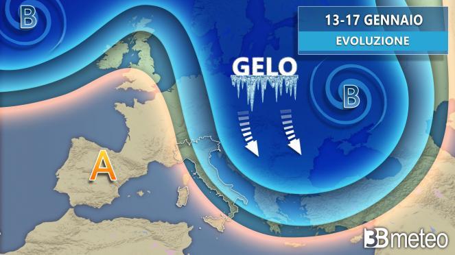 METEO prossimi giorni, il gelo punta l Europa centro orientale