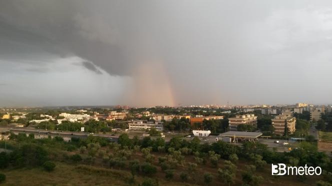 Meteo Puglia: rovesci e temporali nelle prossime ore