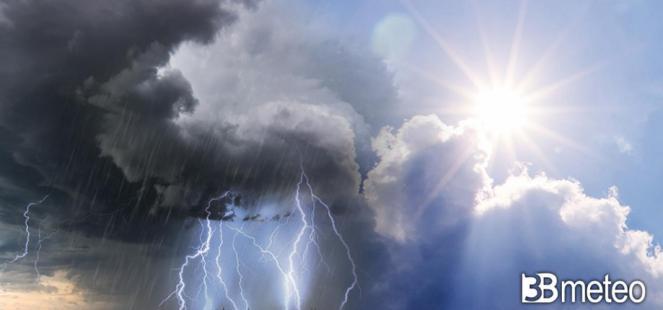Italia ostaggio dell instabilità nei PROSSIMI GIORNI: locali piogge e temporali, ecco dove