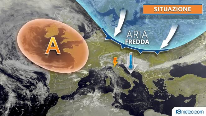 Meteo - satellite Europa 18 settembre