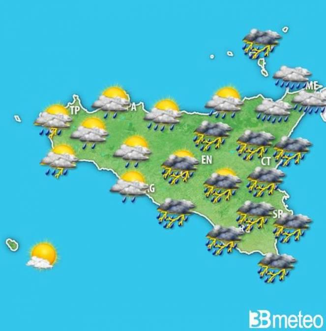 Meteo Sicilia, ancora maltempo nelle prossime ore