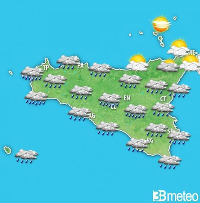 Meteo Sicilia: previsioni per giovedì mattina