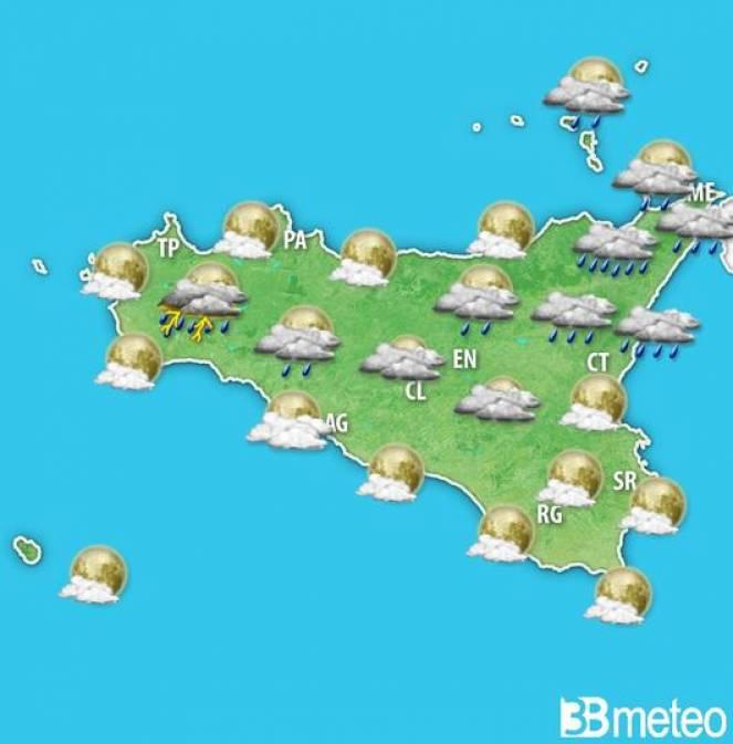 Meteo Sicilia, previsioni per la fascia serale