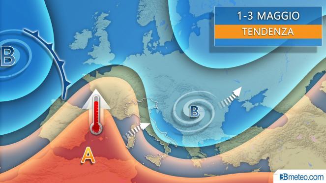 Meteo, allerta gialla per temporali su novarese e Vco