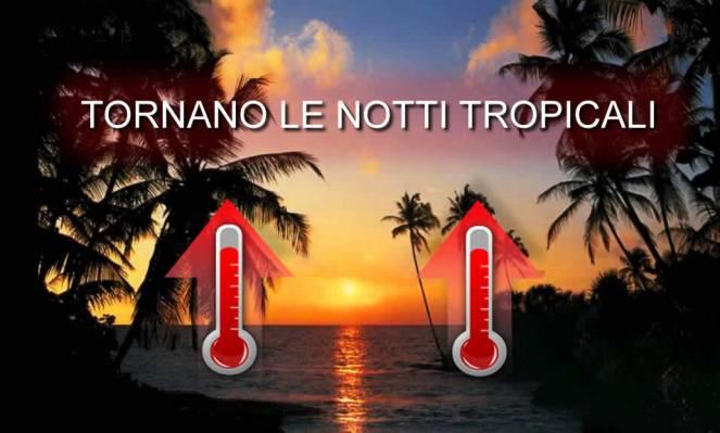 Meteo tornano le notti tropicali in Italia, i valori di temperatura attesi