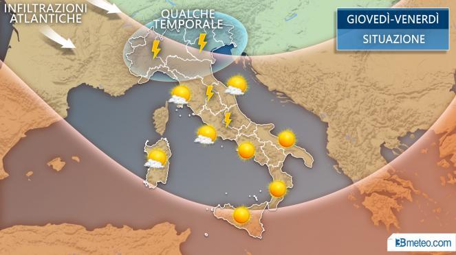 Prossima settimana nuova ondata di caldo: oltre 35 gradi