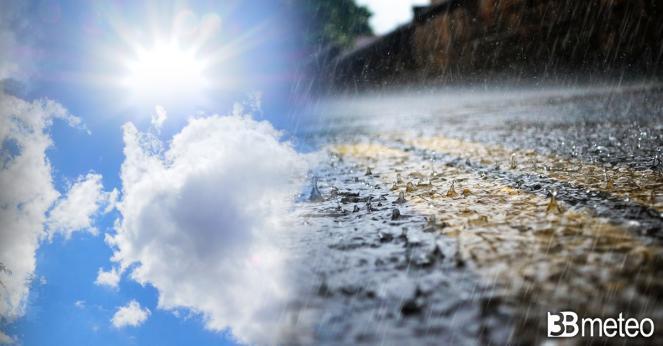 Meteo venerdì ancora instabile su parte d'Italia con piogge e rovesci