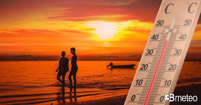 Meteo weekend, gran caldo al Centro-Sud