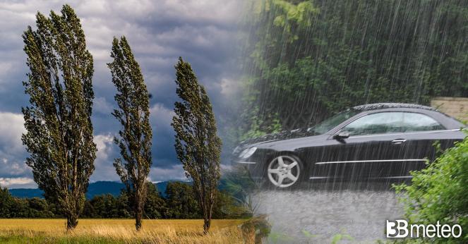 Meteo: weekend movimentato al Centro tra vento e pioggia