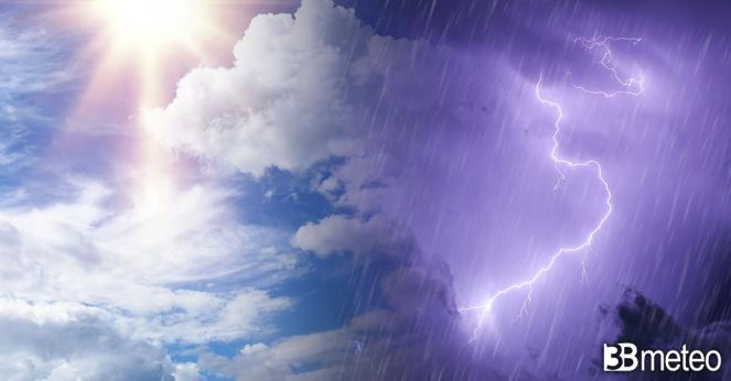 Meteo weekend, rovesci e temporali su parte d'Italia
