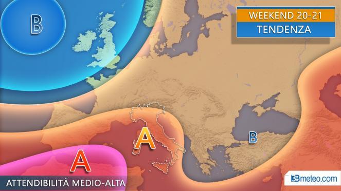 Meteo weekend, sole prevalente ma anche qualche temporale sull'Italia