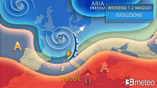 METEO Weekend tra caldo africano e forti temporali