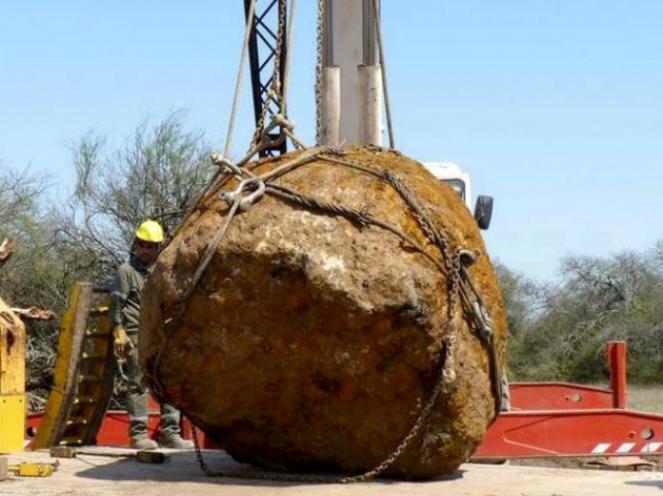 Meteorite gigante disseppellito in Argentina