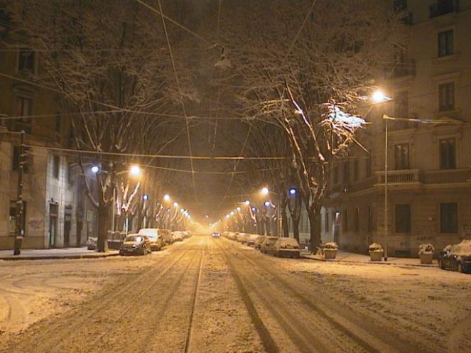 Milano - Via Monti (Fonte immagine: centrometeolombardo.com)