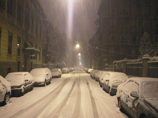 Milano - Via Tasso (Fonte immagine: centrometeolombardo.com)