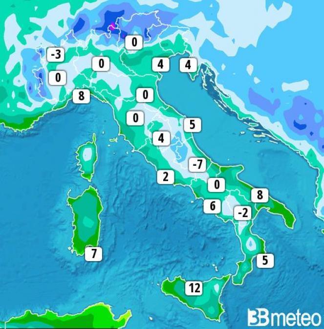 Previsioni meteo 29 Dicembre: splende il sole sull'Italia