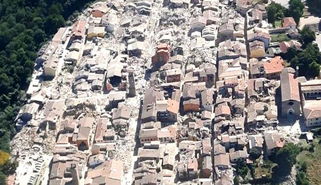 Nel 2016 in Italia un terremoto fa ancora centinaia di vittime