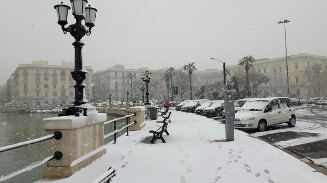 Neve a Bari