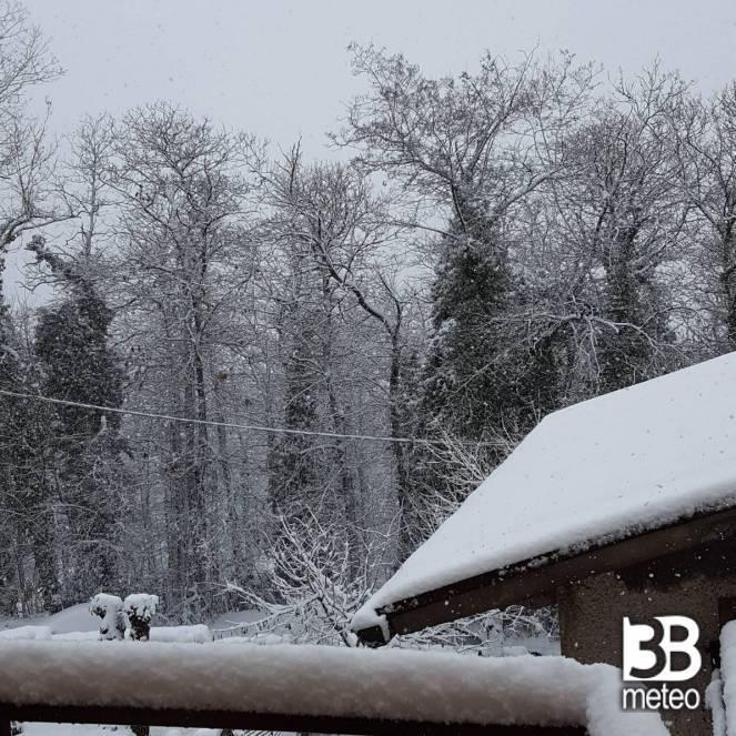 Neve a Bivignano (AR)