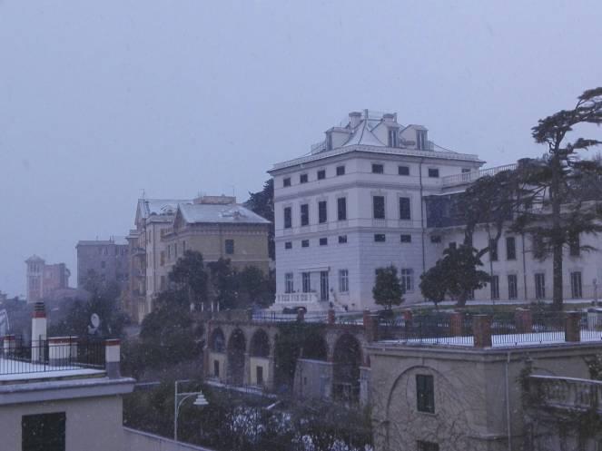 Neve a Genova
