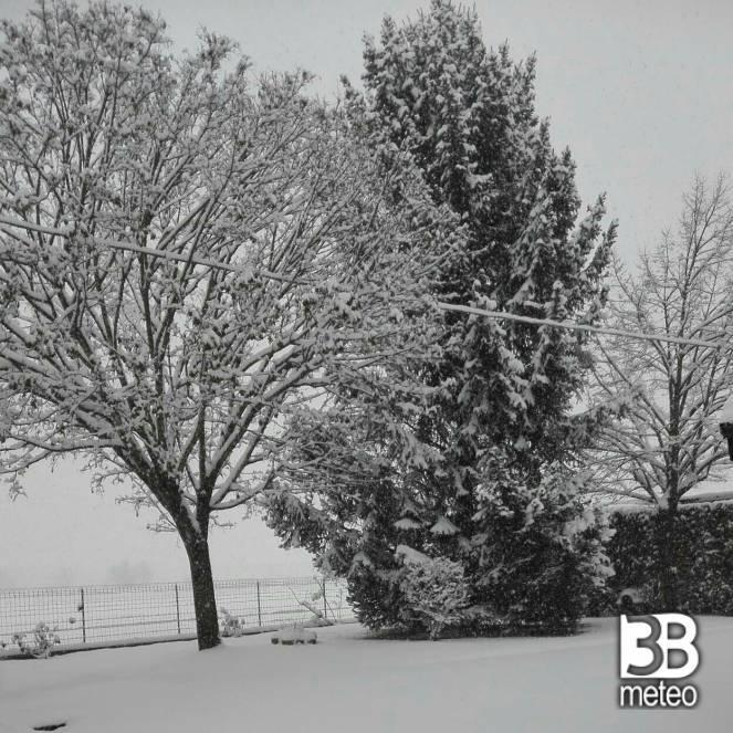 Neve a Novi Ligure