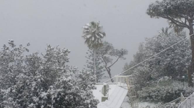Neve a Pozzuoli