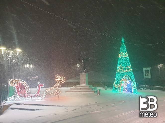 Neve a San Giovanni in Fiore (CS)