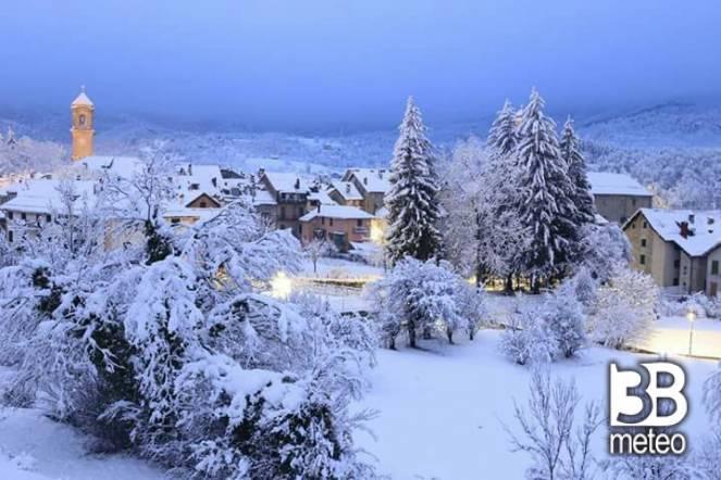 Neve a Sassello (SV)