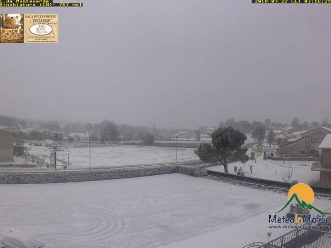 Neve anche a Campobasso