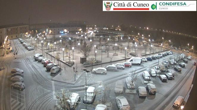 Neve anche a Cuneo