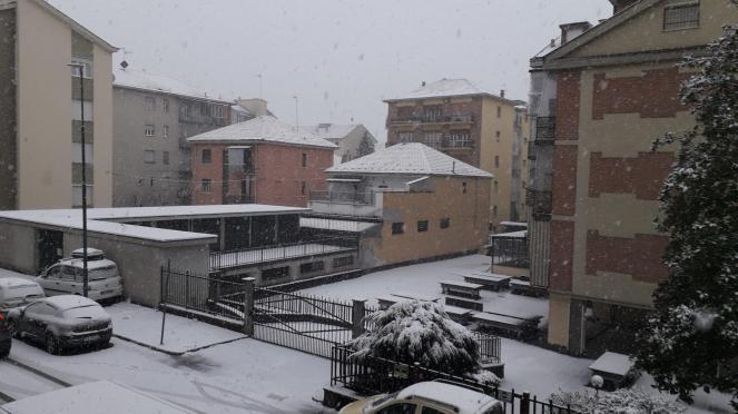 neve ancora Asti