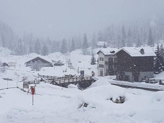 Neve in arrivo sulle Alpi