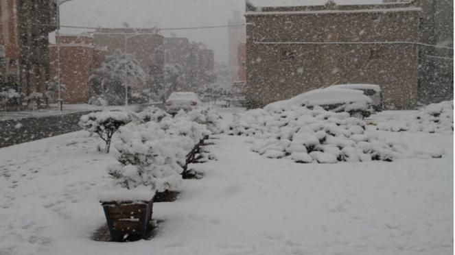Neve in Marocco