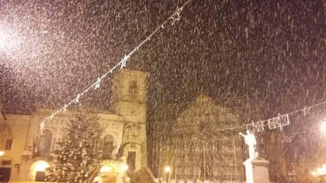 Neve Norcia domenica 4 dicembre