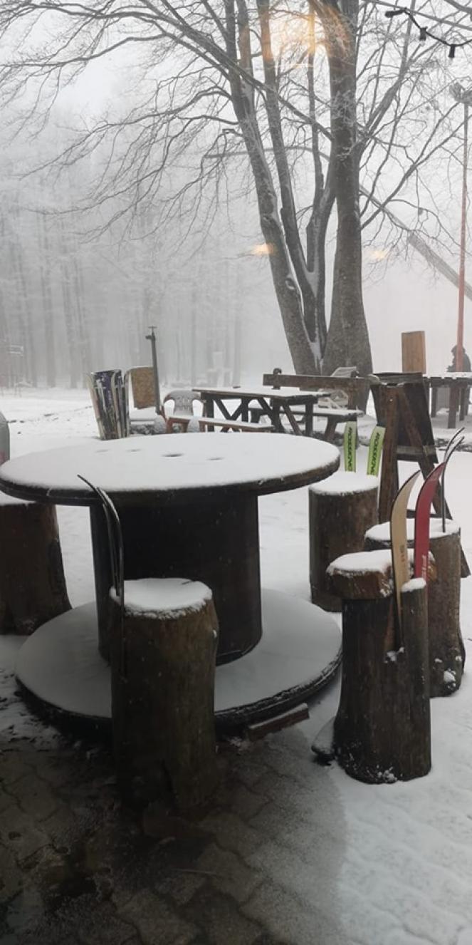 Neve sul Monte Amiata. (Fonte immagine: Rete Meteo Amatori)
