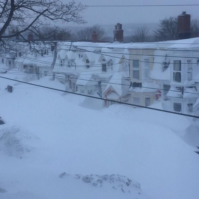 Nevicate record in Canada, dichiarato lo stato di emergenza (foto twitter di @bobhallett)