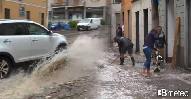 Nord Italia continuo bersaglio di rovesci e temporali