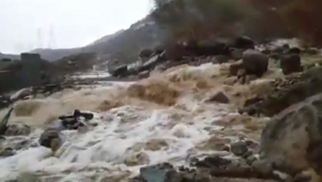 Nubifragi in Arabia Saudita