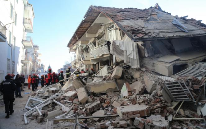 Numerose le abitazioni danneggiate. Fonte: Skytg24