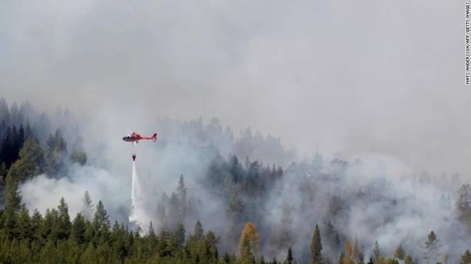 Numerosi incendi in Svezia