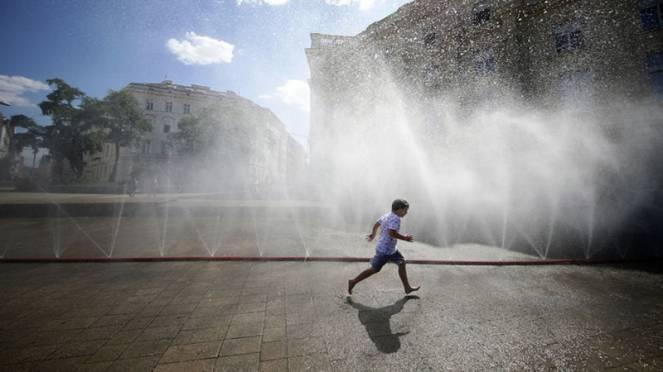 nuova ondata di caldo in Europa