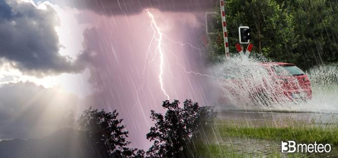 Nuova settimana ancora temporali localmente forti su parte della Penisola